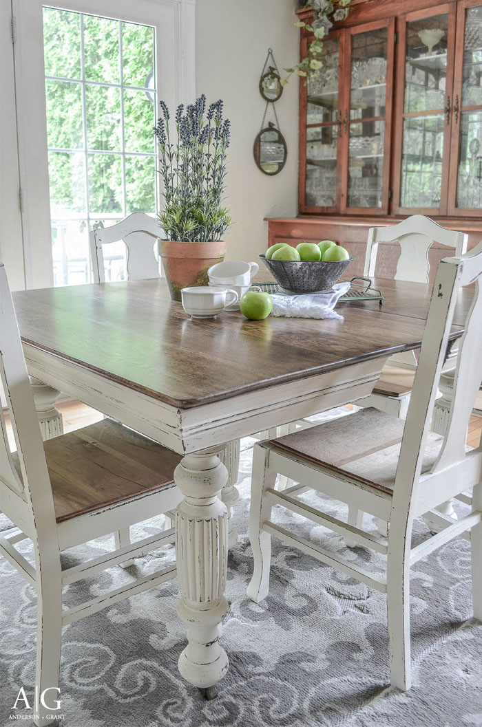 Antique Dining Table- Anderson & Grant