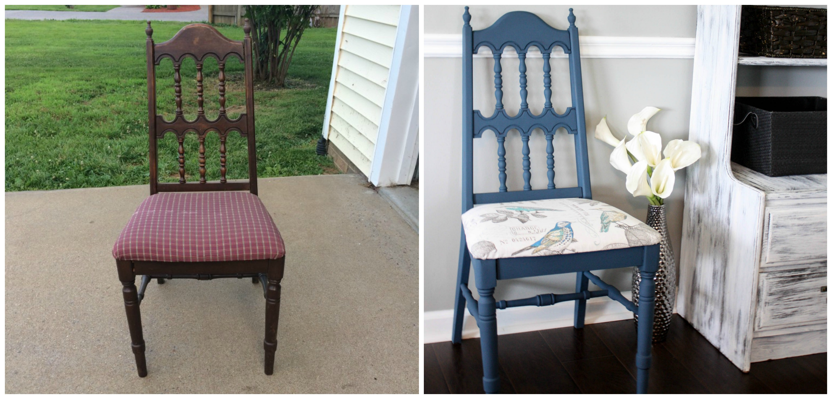 Auction Chair Makeover