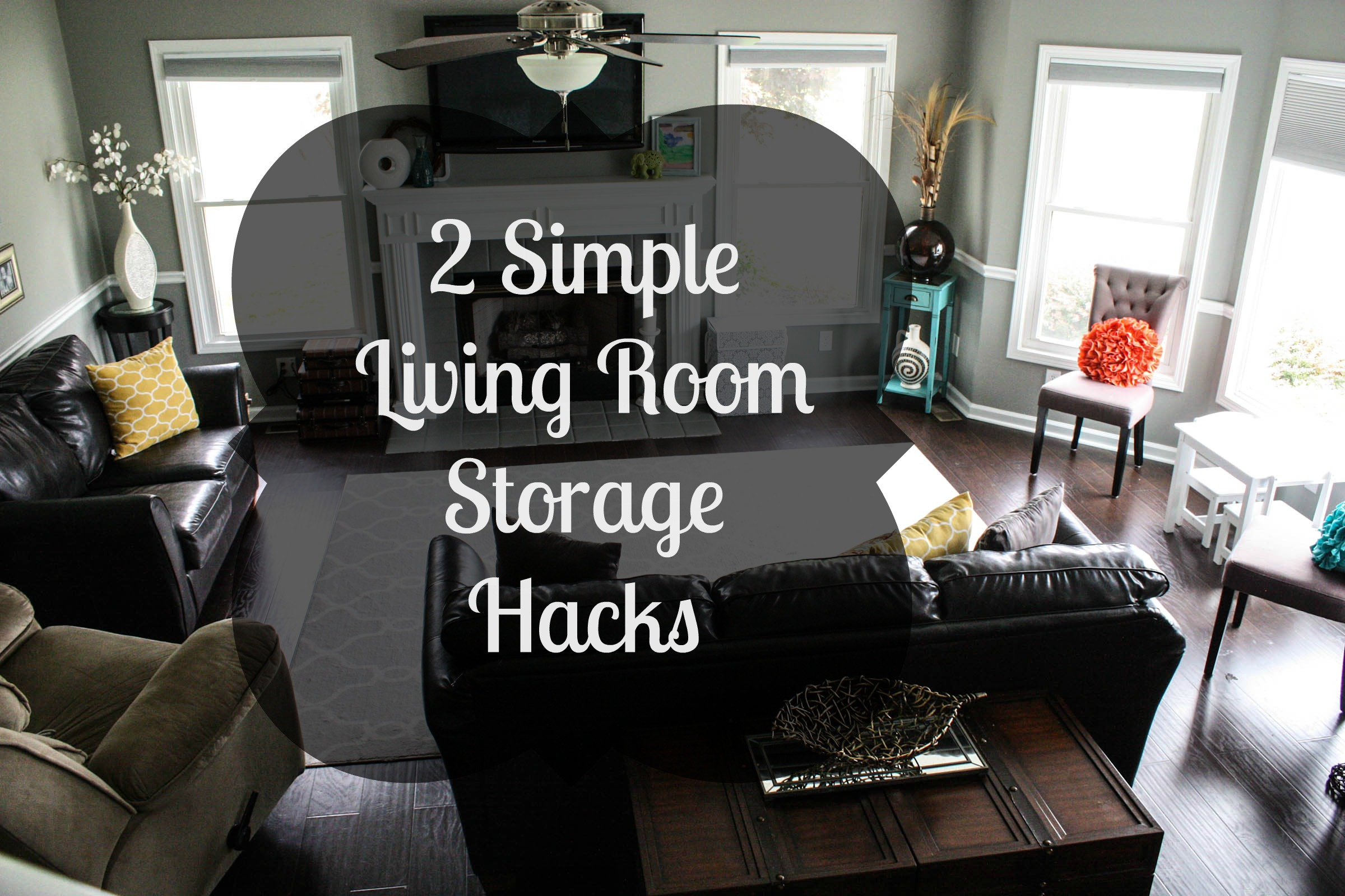 2 Simple Living Room Storage Hacks Re Fabbed