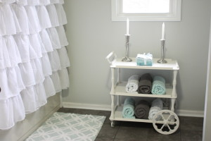 Vintage Tea Cart Makeover