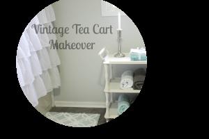 Vintage Tea Cart Makeover