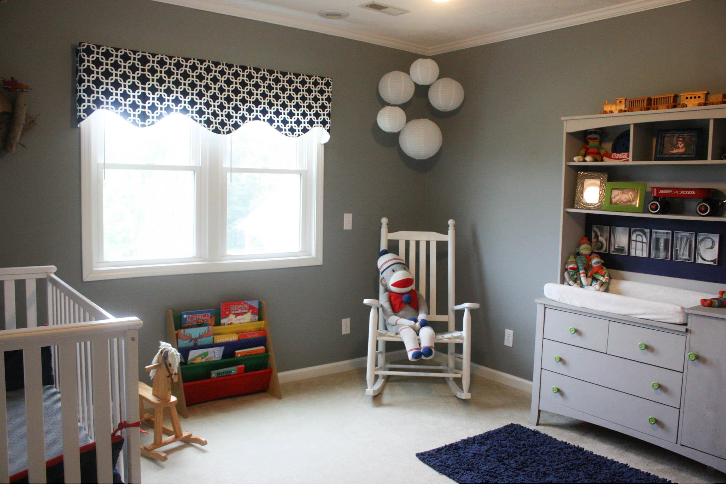A Little Boy's Americana Bedroom - Re-Fabbed