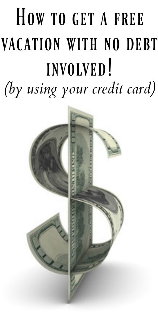 How to optimize your credit card without going into ANY debt! I am also taking a FREE vacation next year by using my card! Check out how!