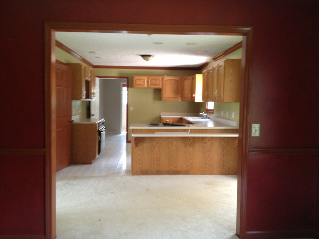 Home Renovation Before Picture