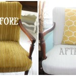 My First Fabric Painted Chair {A Learning Experience}