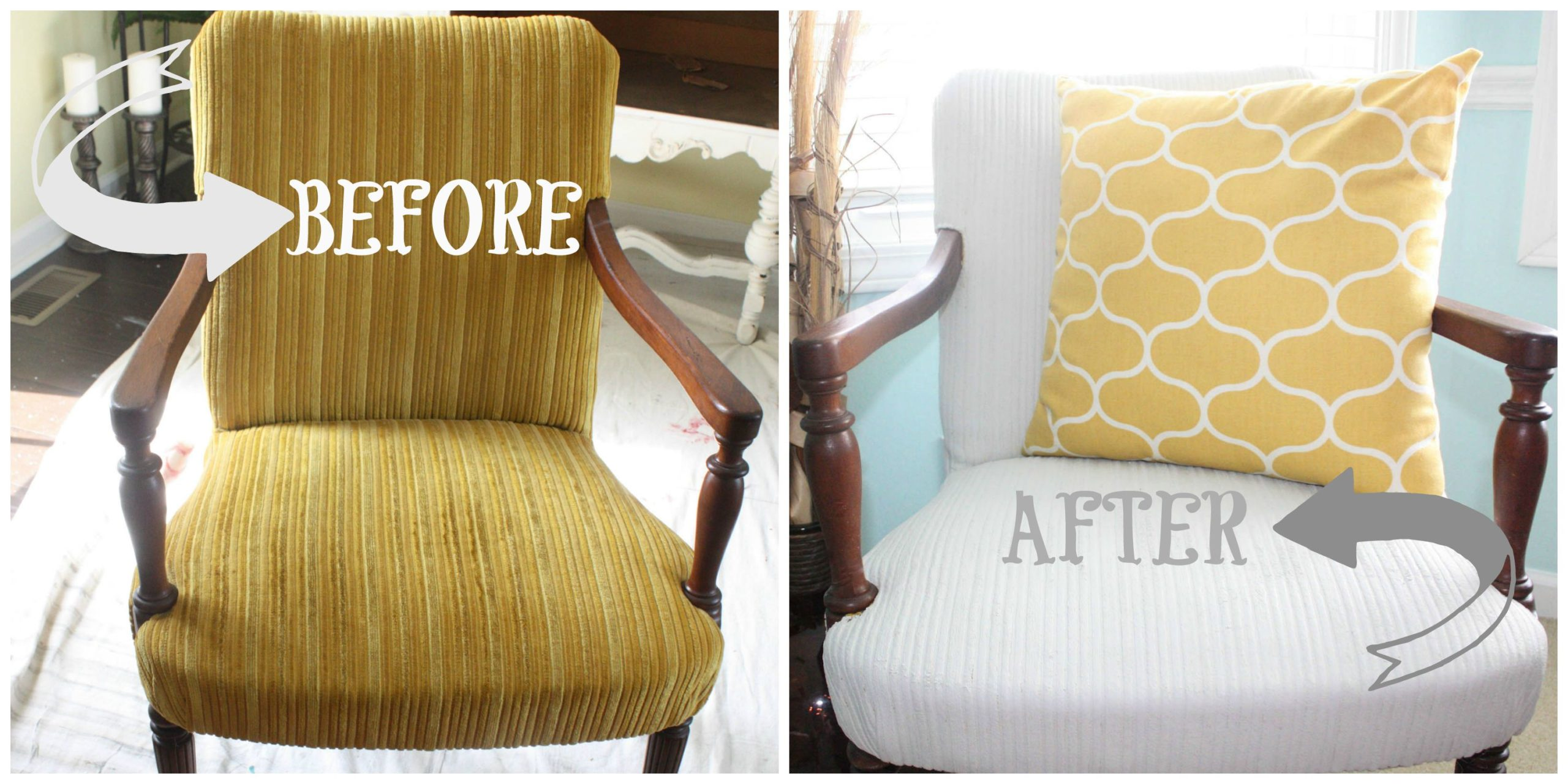 Pin for Later fabric Painted Chair