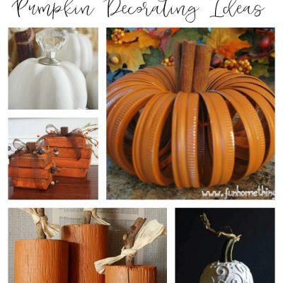 10 DIY Pumpkin Decorating Ideas