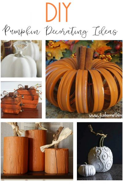10 DIY Pumpkin Decorating Ideas
