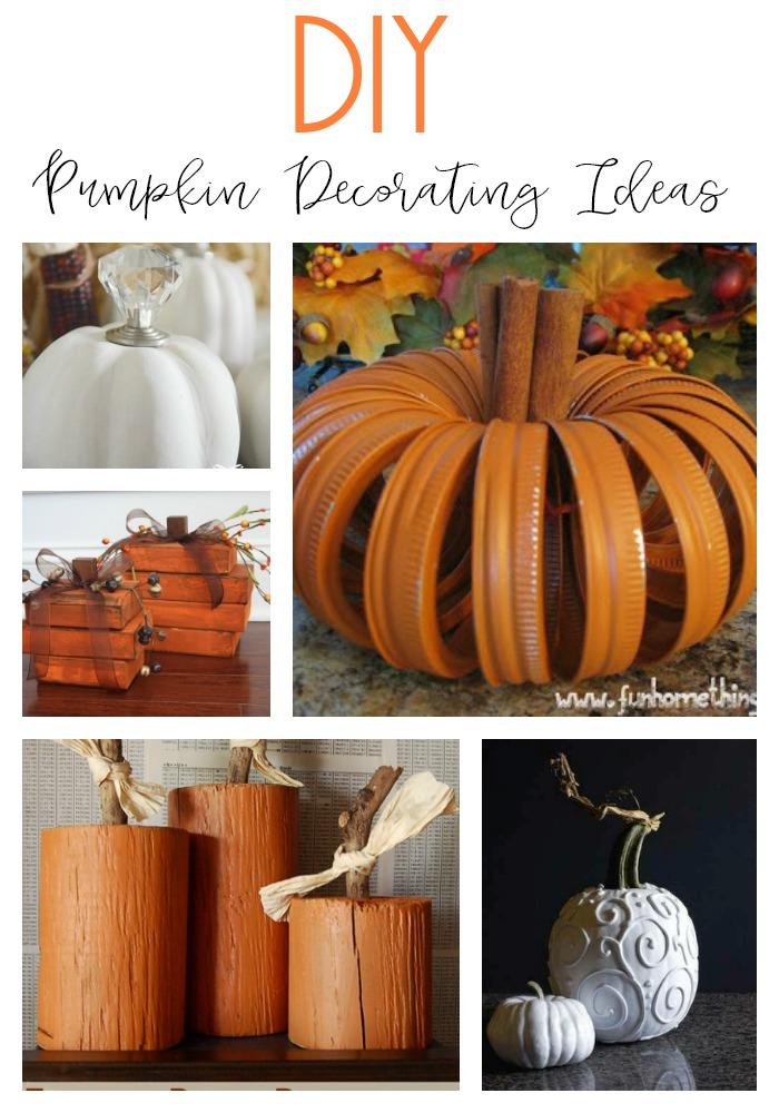 10 fun and unique DIY pumpkin decorating ideas