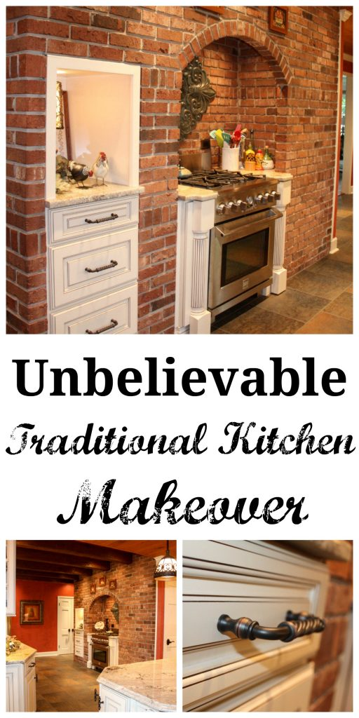 This kitchen makeover is one of the most UNREAL makeovers I have ever seen! The before and afters are a MUST SEE!