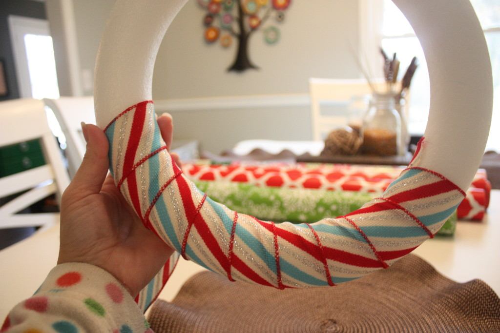 Easy Ribbon Wreath