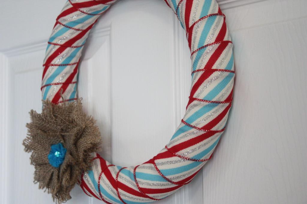 Easy Ribbon Wreath