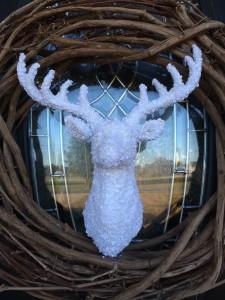 Easy Deer Wreath