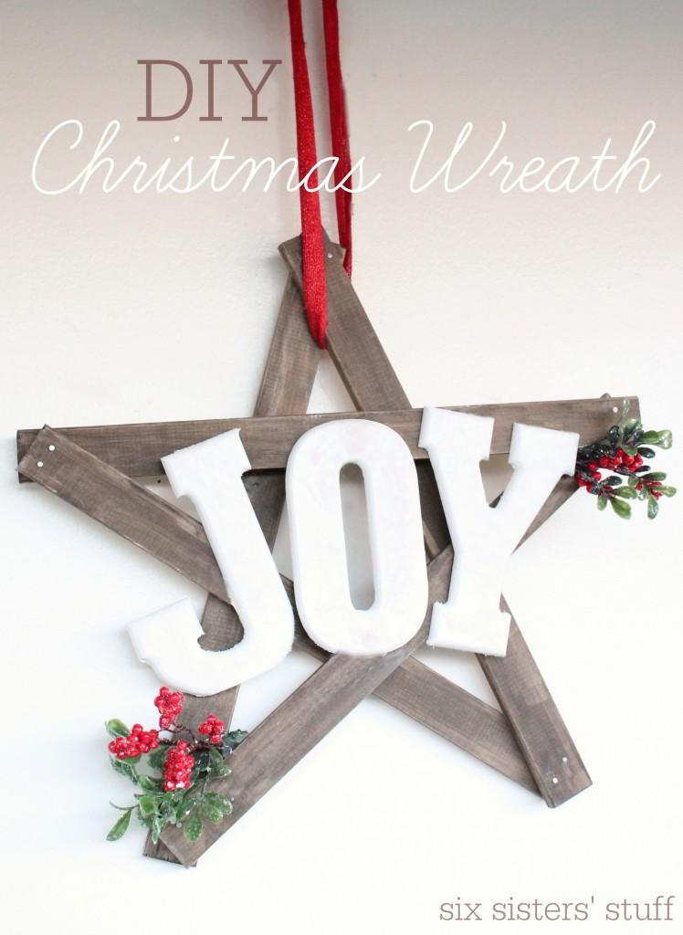 10 Beautiful Diy Christmas Wreaths