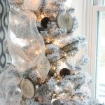 Rustic Glam Office Christmas {with DIY Wood Slice Ornaments}~Home for Christmas Blog Tour