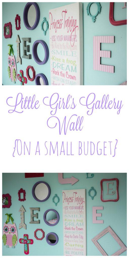 Little Girl's Gallery Wall