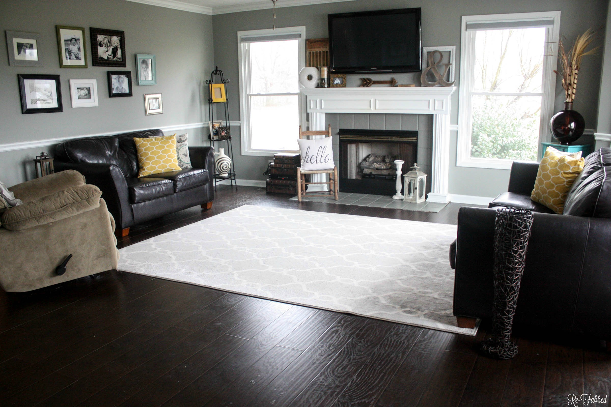New Living Room Layout - Re-Fabbed
