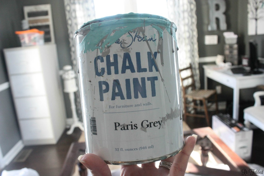 DIY Coffee Table- Annie Sloan Paint
