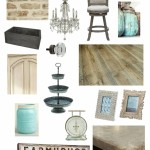 Rustic Glam Farmhouse Kitchen {Dream Design Board}
