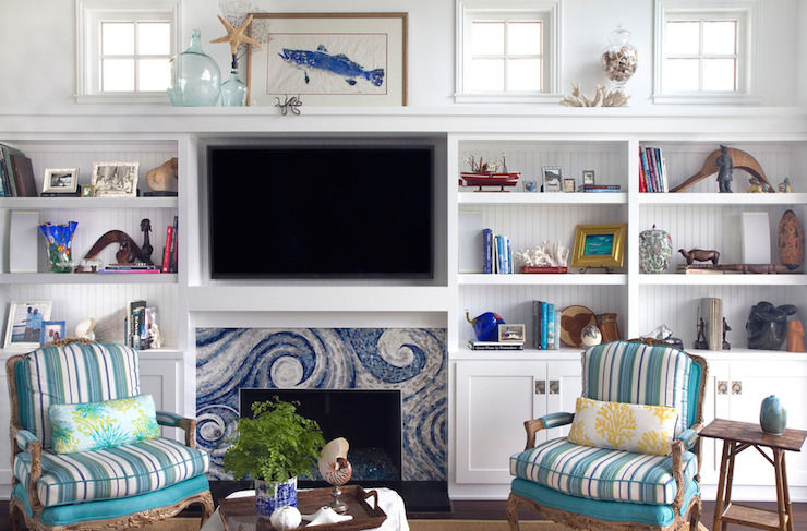 decorating a mantel with a tv re fabbed rh re fabbed com