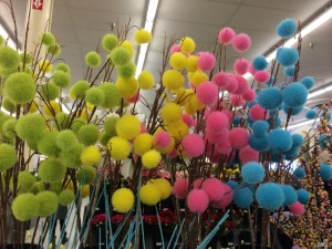 DIY Pom Pom Sticks