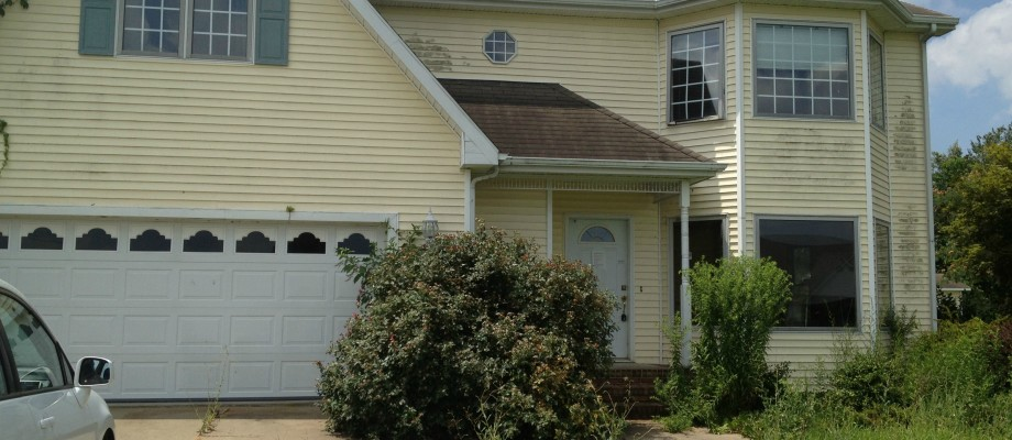Our Foreclosure {Exterior Before and After}