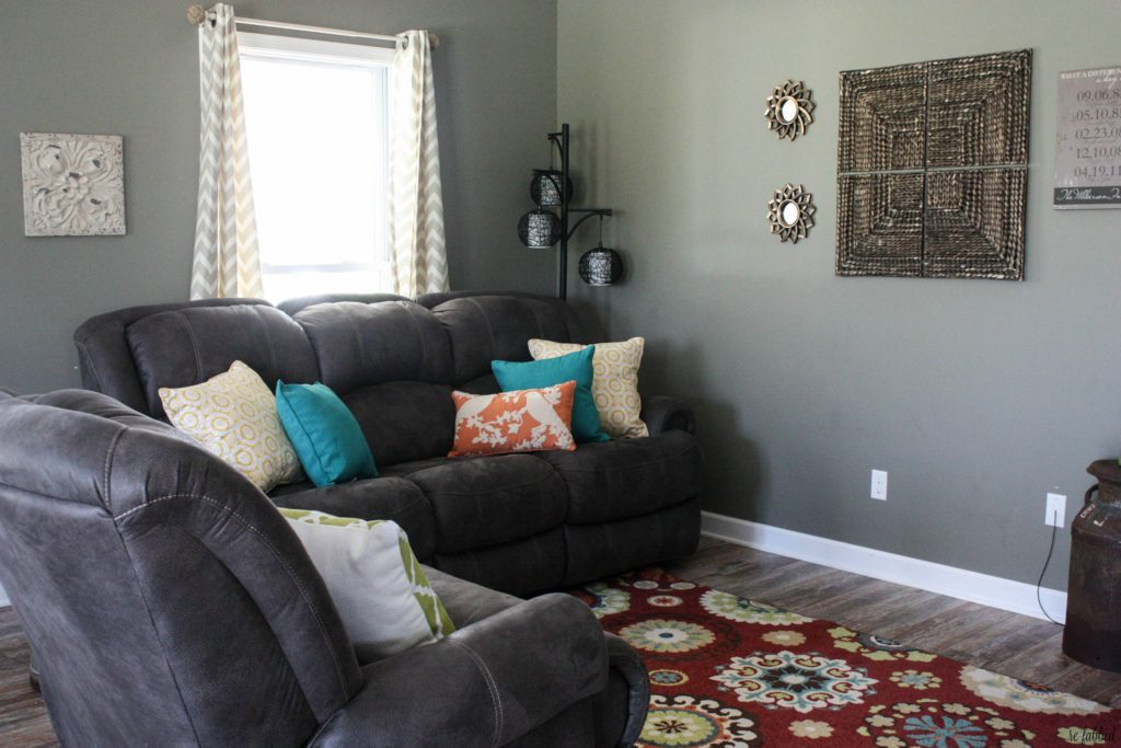 Colorful Farmhouse Makeover