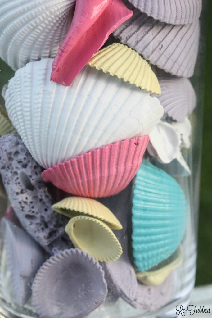 Painted Sea Shells