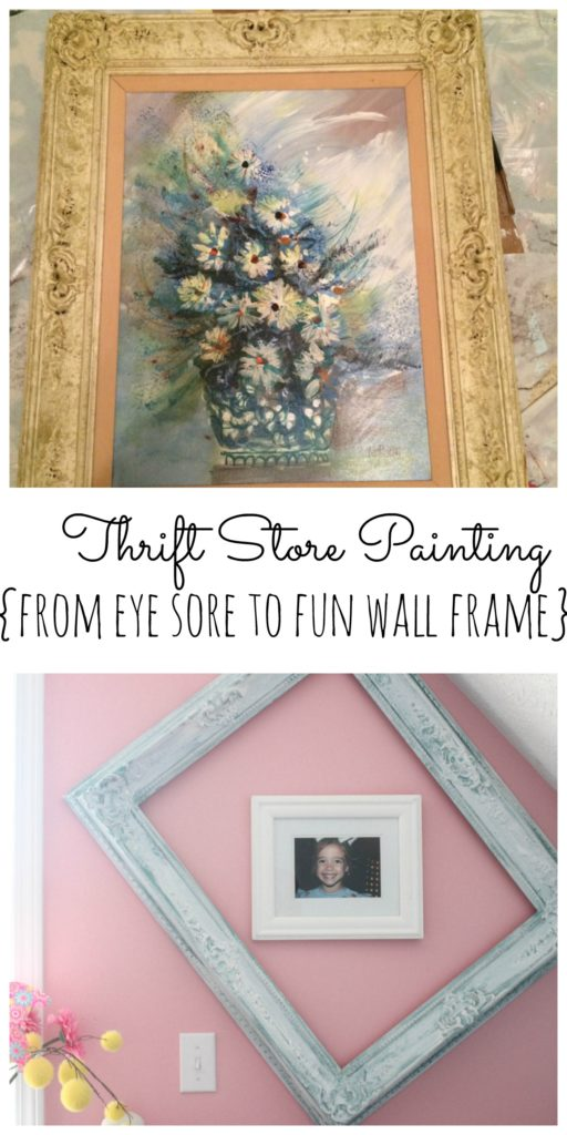 Thrift Store Painting Transformation