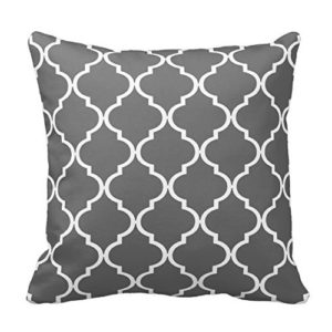 Gray Pillow Cover