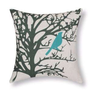 Bird Pillow Cover