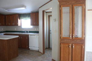 Mobile Home Kitchen Before