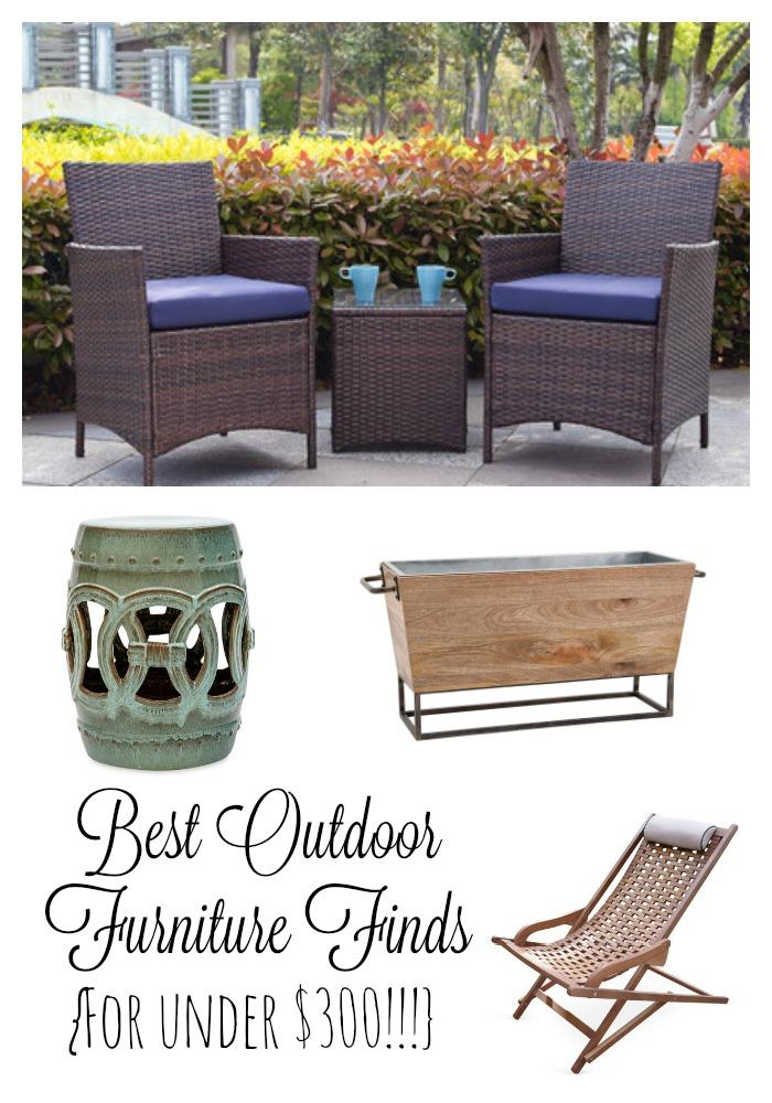 Outdoor Furniture Under $300
