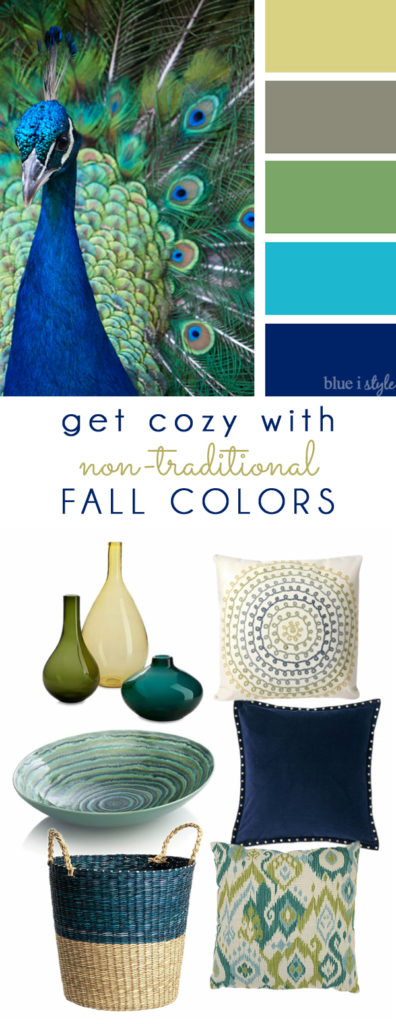 Blue I Style Fall Mood Board