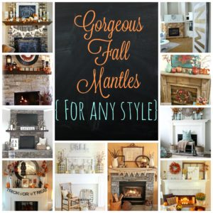 Fall Mantle Inspiration