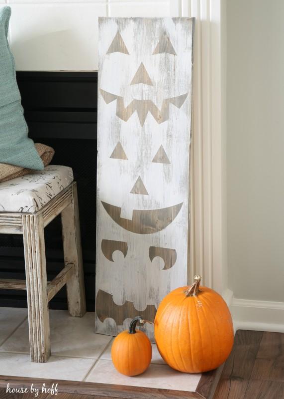 DIY Pumpkin Signs
