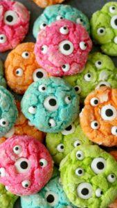 Googly Eyed Cookies