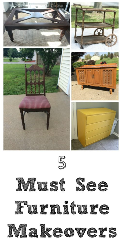 5 Must See Furniture Makeovers