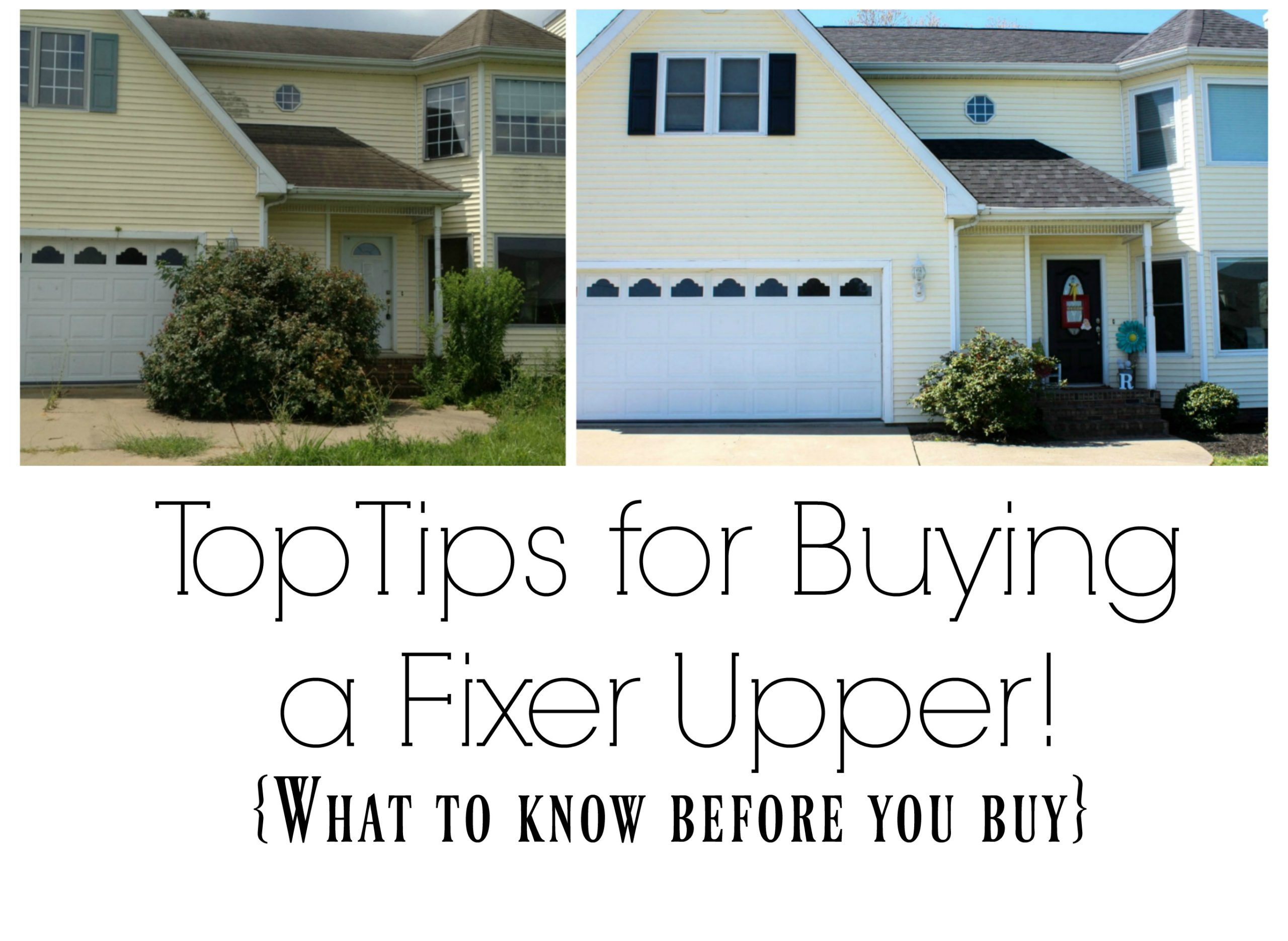 Top tips for buying a fixer upper re fabbed - Buying a fixer upper ...