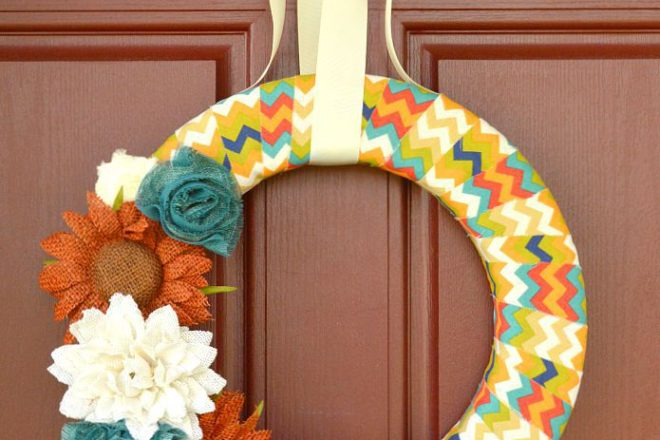 Easy DIY Fall Wreaths
