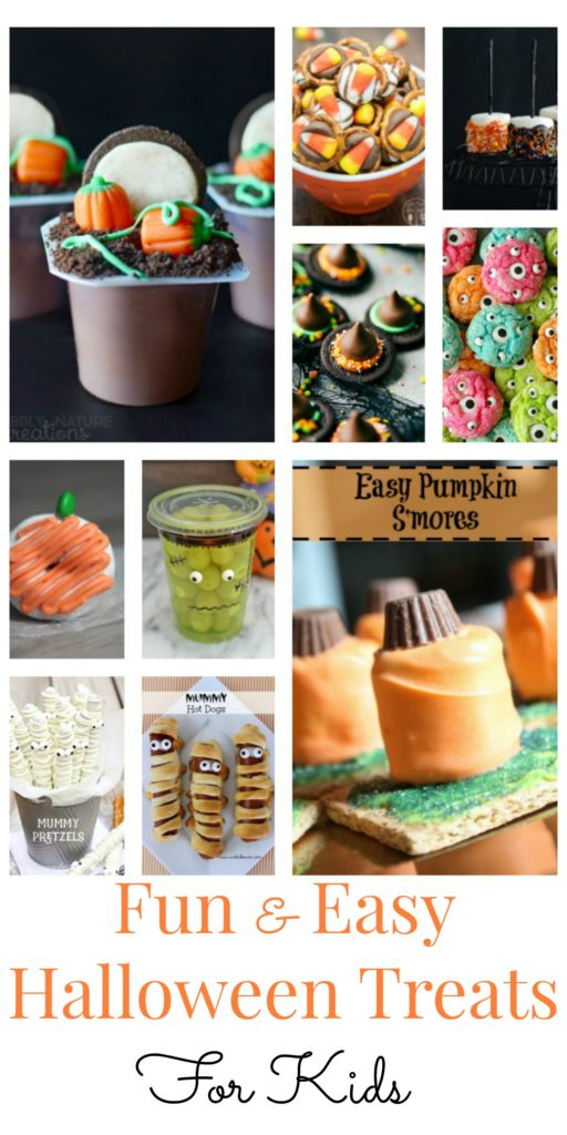 11 fun halloween treats for kids for Easy halloween treats for work party