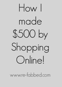 How I made $500 by Shopping Online with Ebates!