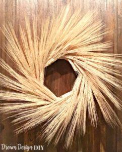 Fall Wheat Wreath