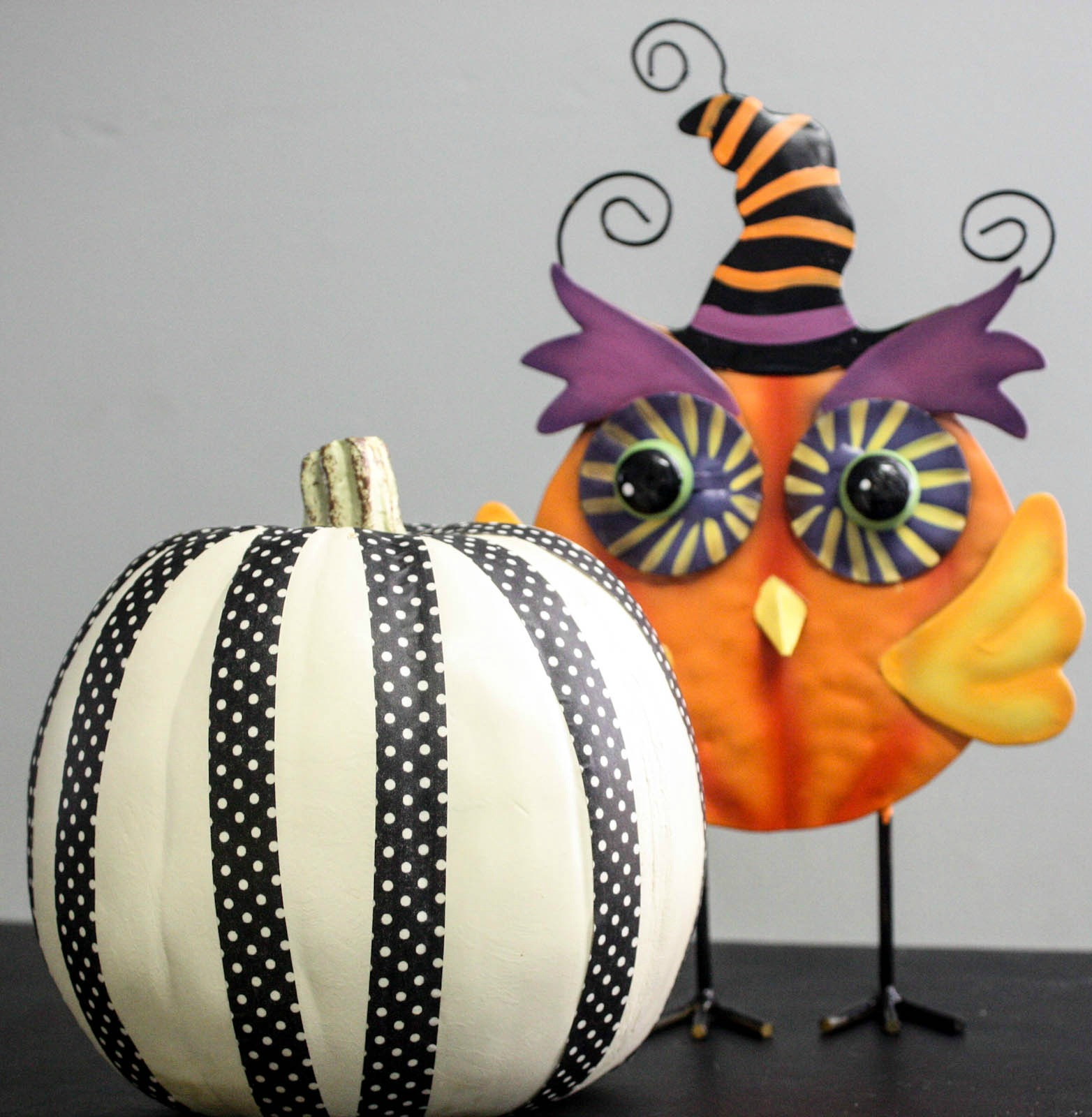 5 Minute Washi Tape Pumpkin