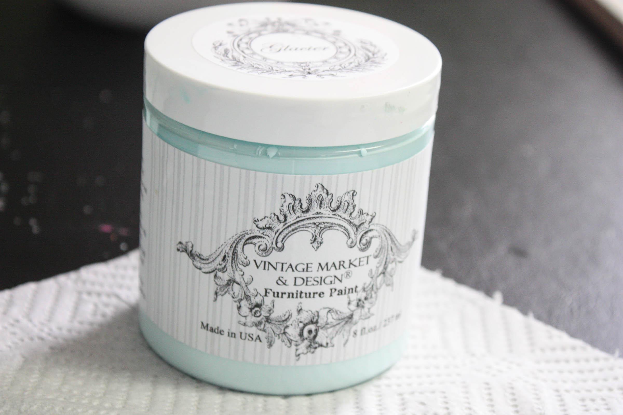 Vintage Market Design Glacier Chalk Paint