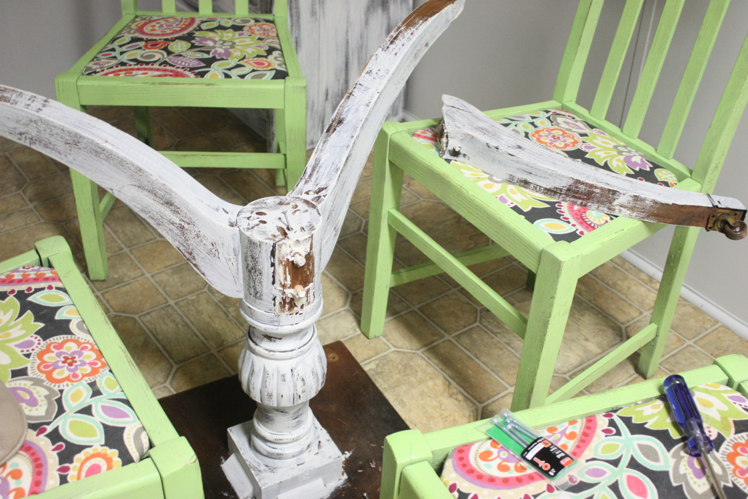 My Broken Table Makeover {and a life lesson}