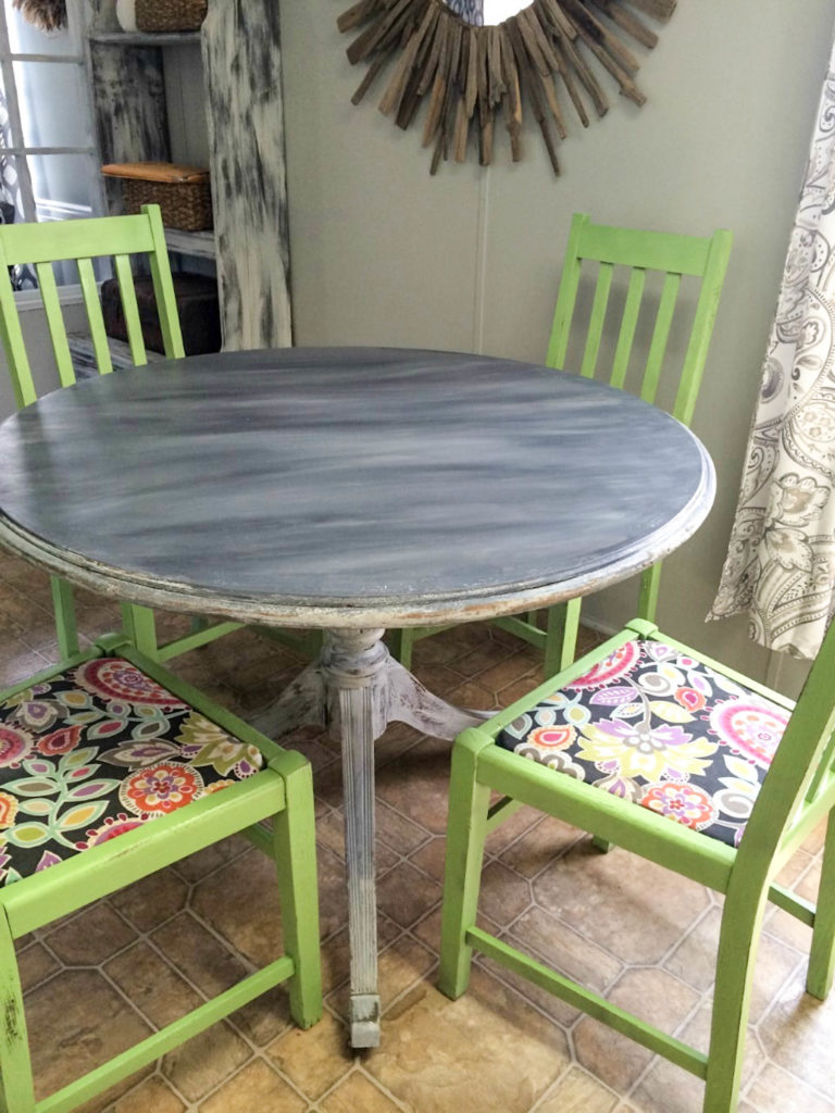 Kitchen Table Makeover Reveal