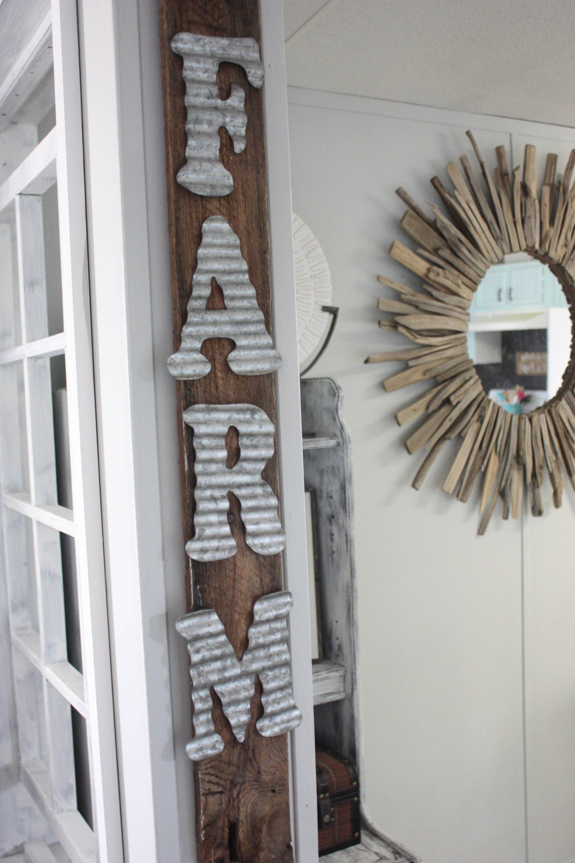 3 Easy Diy Storage Ideas For Small Kitchen: 3 Minute DIY Farmhouse Sign