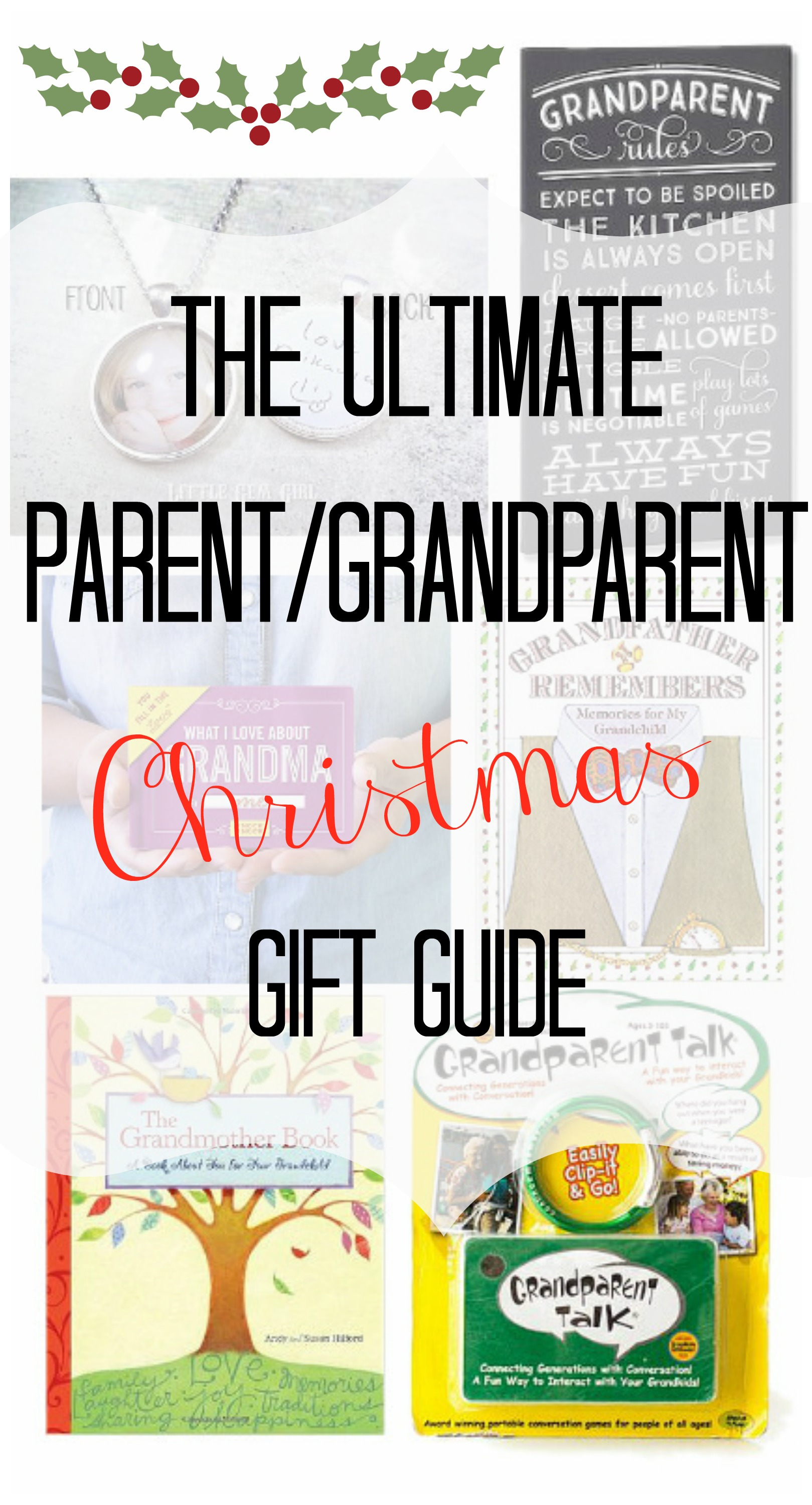 Grandparent and Parent Christmas Gift Guide - Re-Fabbed