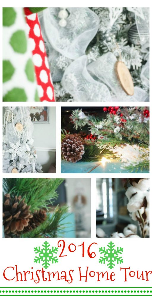Single Wide Christmas Home Tour! This is quite the tour. You would NEVER believe it was a single wide mobile home by the pictures! Love the neutral tree!